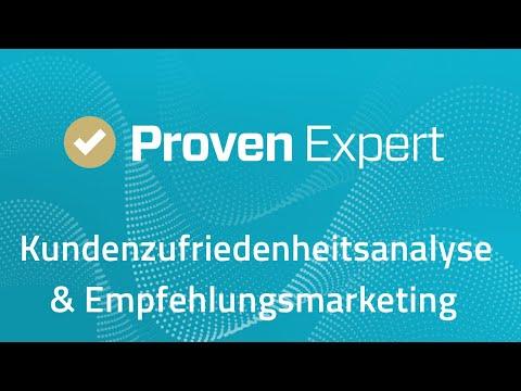 ProvenExpert.com: Kundenzufriedenheitsanalyse und Empfehlungsmarketing in einer Lösung