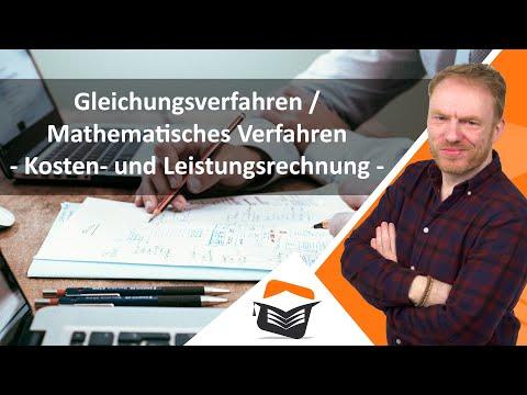 Gleichungsverfahren / Mathematisches Verfahren - Kostenrechnung ► wiwiweb.de
