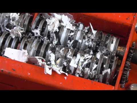 Paper shredder: shredding cd, dvd, diskette, data storage