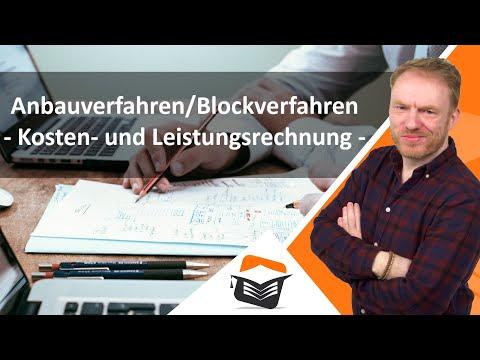 Anbauverfahren/Blockverfahren - Kostenrechnung ► wiwiweb.de