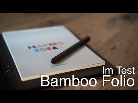 Bamboo Folio von Wacom im Test