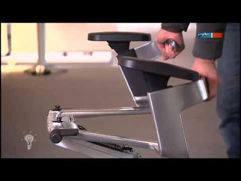 Bürostuhl für bewegliches Sitzen - MDR Einfach genial - 07.02.2012