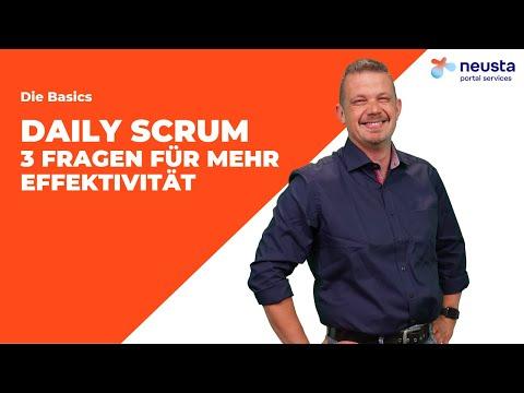 Daily Scrum – 3 Fragen die mehr Effektivität bringen! | neusta portal services GmbH