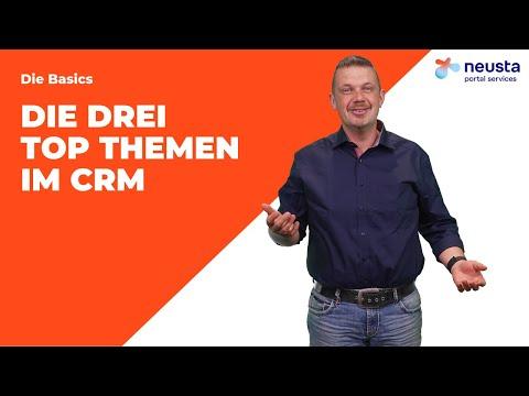 Vertrieb, Service und Marketing! Die drei TOP Themen im CRM | neusta portal services GmbH