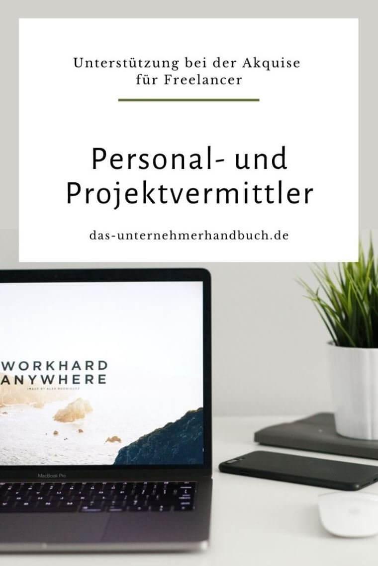 Personal- und Projektvermittler