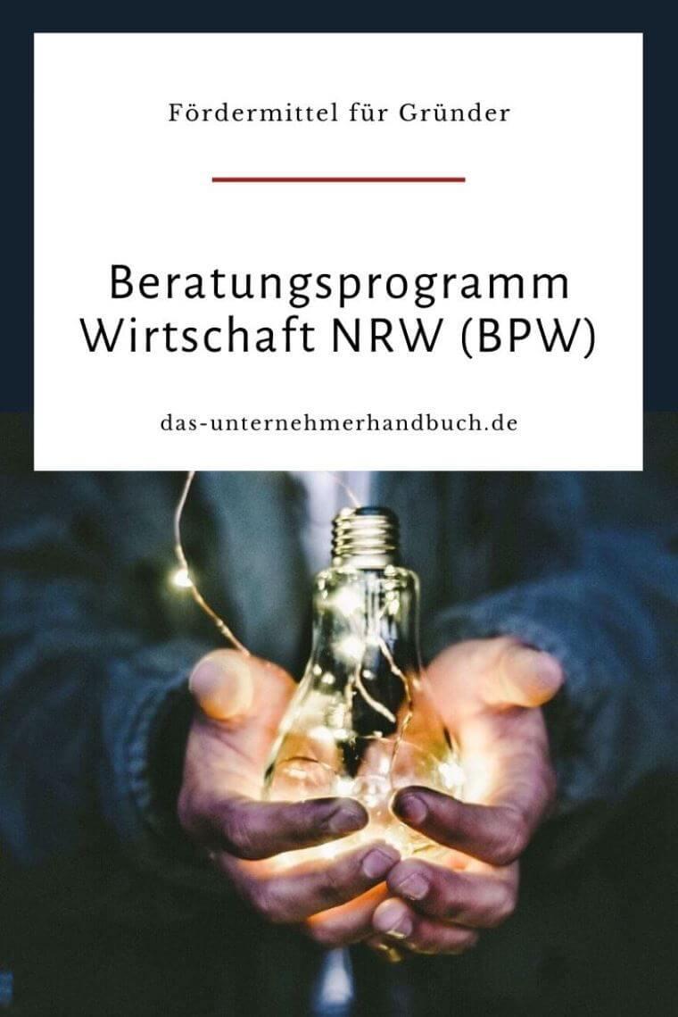 Beratungsprogramm Wirtschaft