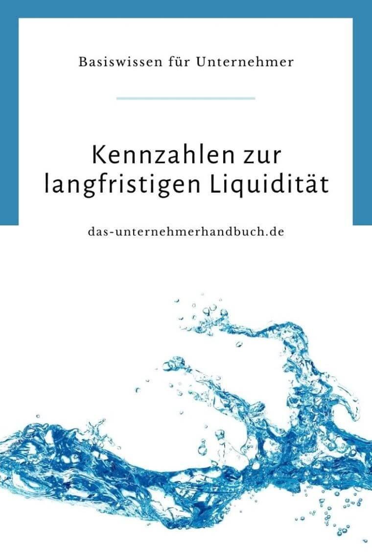 Kennzahlen zur langfristigen Liquidität