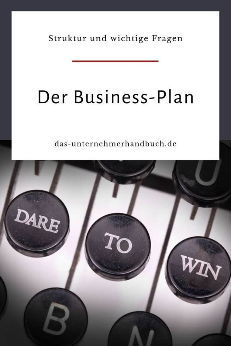 Business-Plan / Businessplan