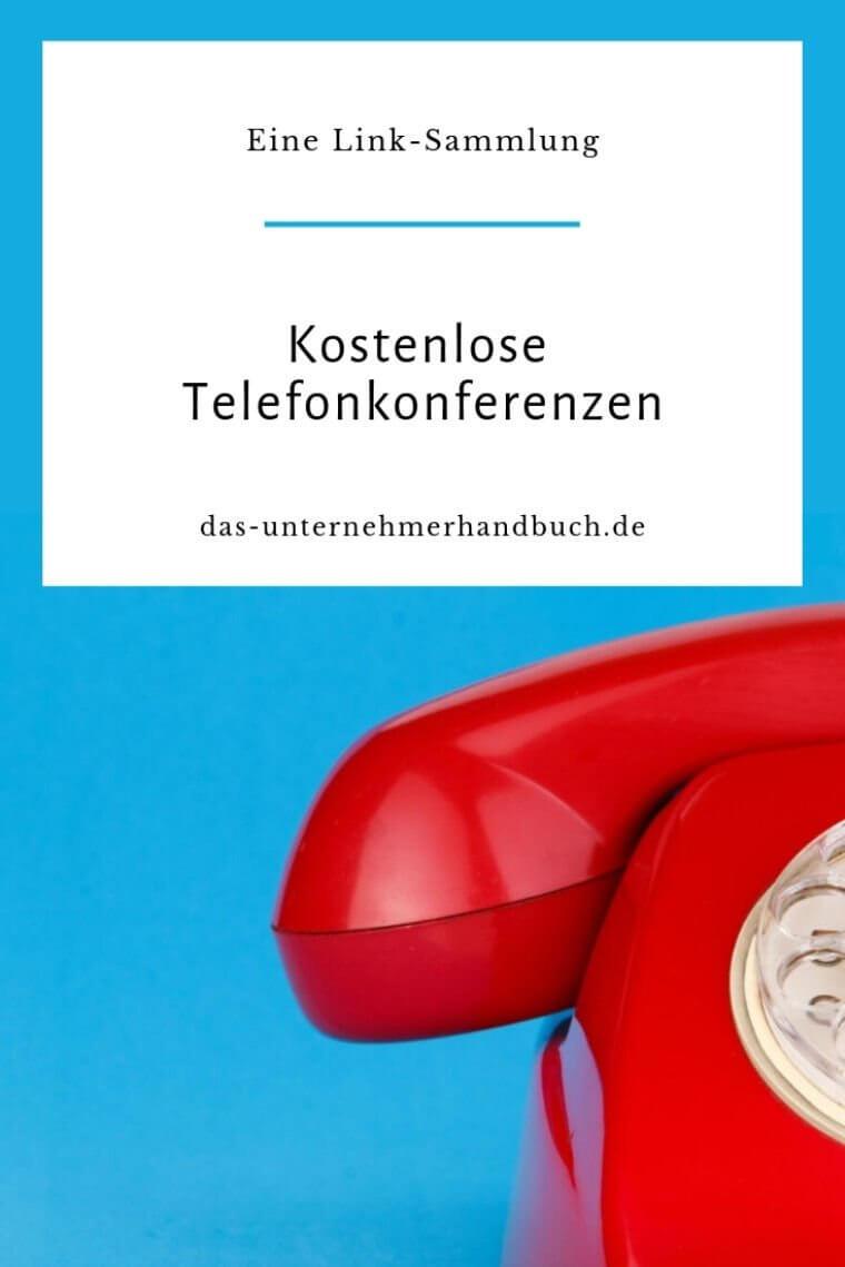 kostenlose Telefonkonferenzen