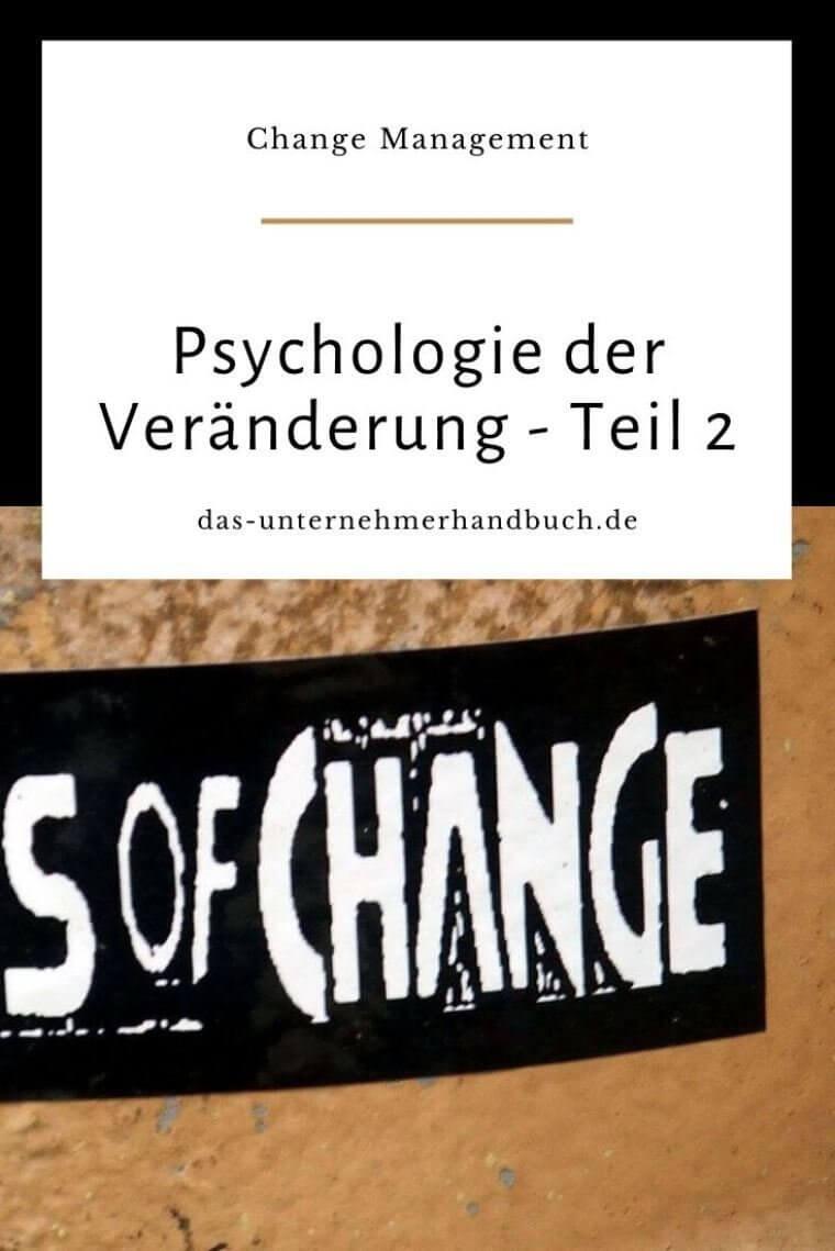Psychologie der Veränderung