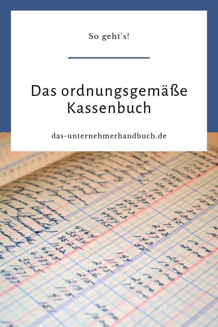 Kassenbuch Handschriftlich Vorlage 2017 16 5