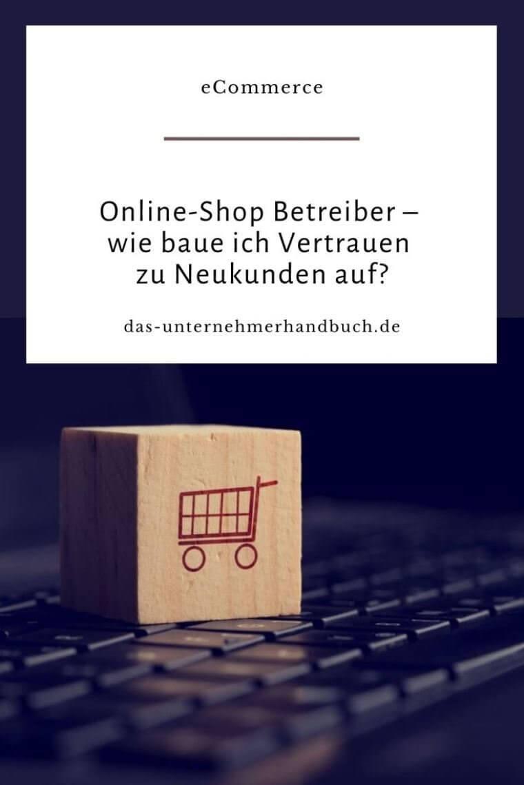 Online-Shop - Vertrauen
