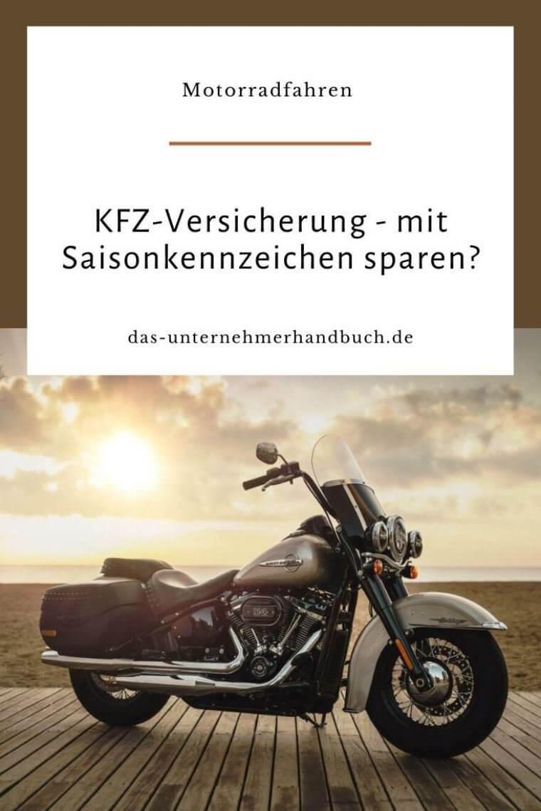 KFZ-Versicherung Saisonkennzeichen