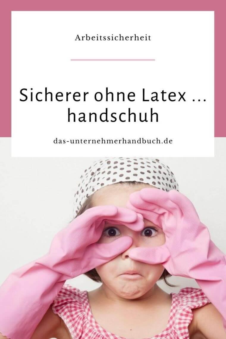 Latexhandschuh / Sauberkeit, Lappen