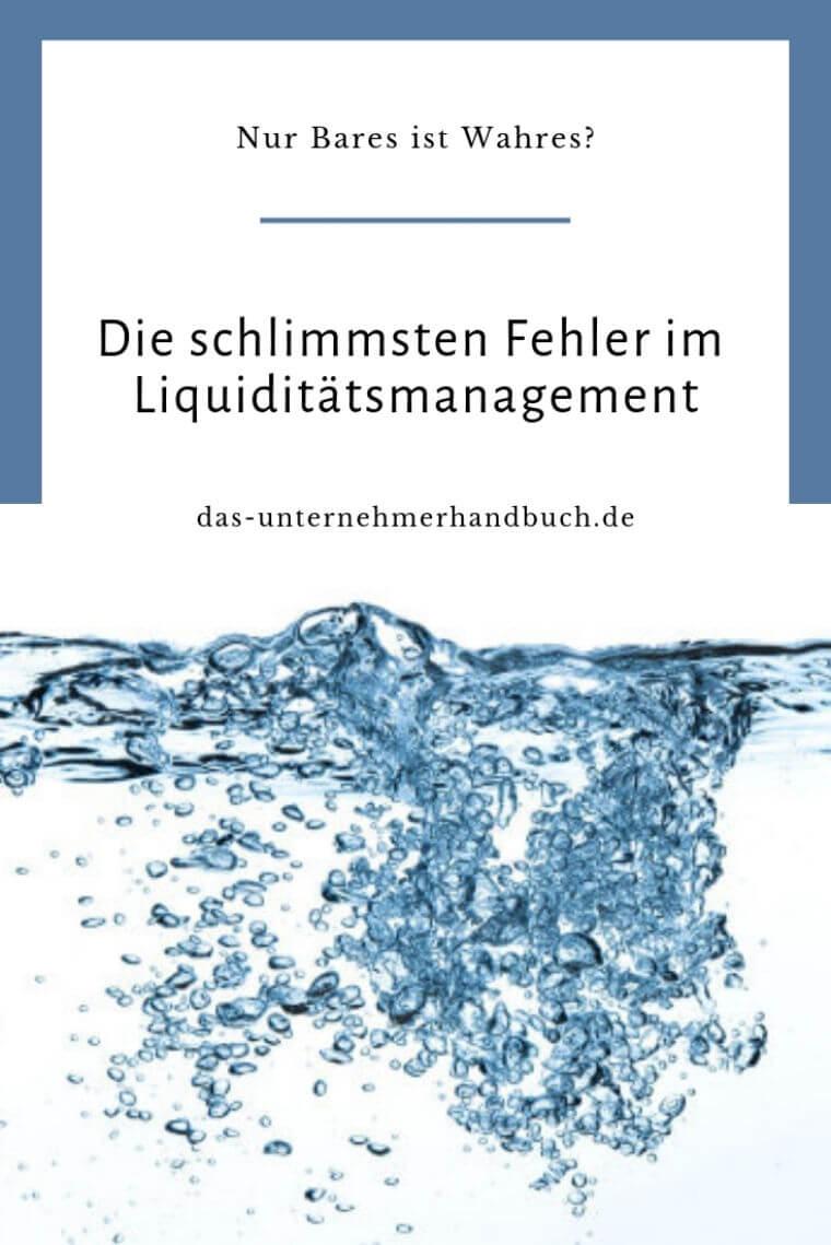Liquidiätsmanagement