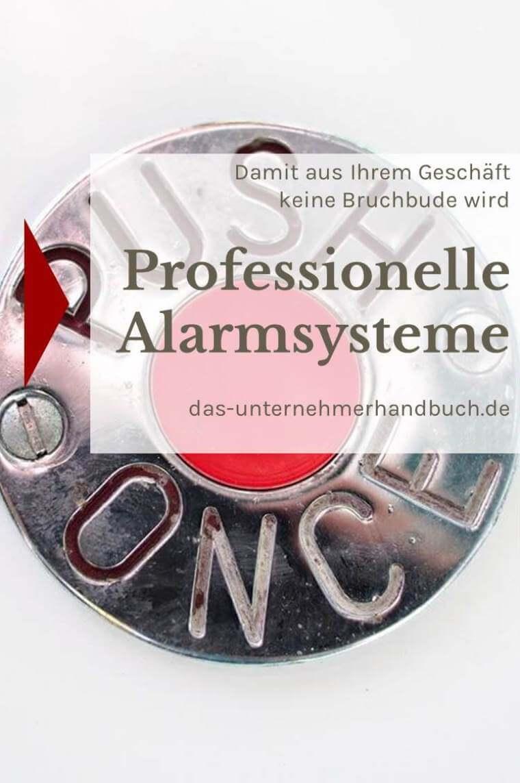 Professionelle Alarmsysteme