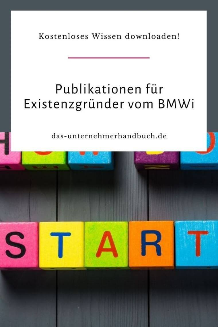 Publikationen für Existenzgründer