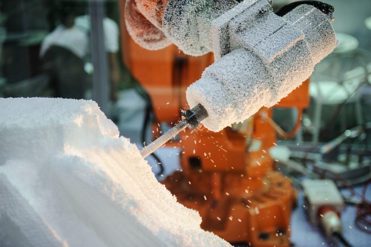 Anlagentechnik Schaumstoffproduktion