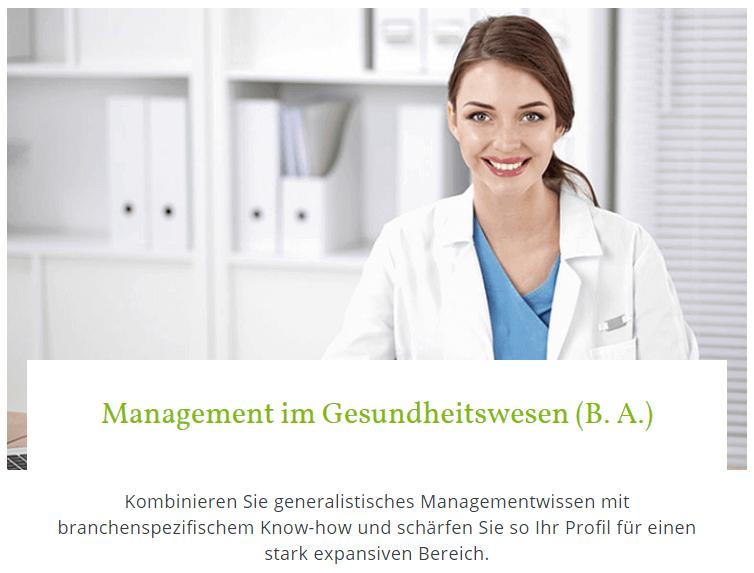 onlineplus - Hochschule Fresenius - Gesundheitsmanagement