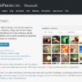 Unternehmenswebsite Wordpress