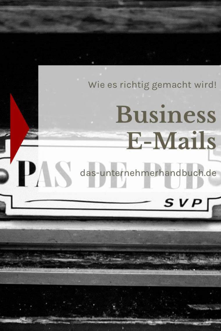 Business-E-Mail
