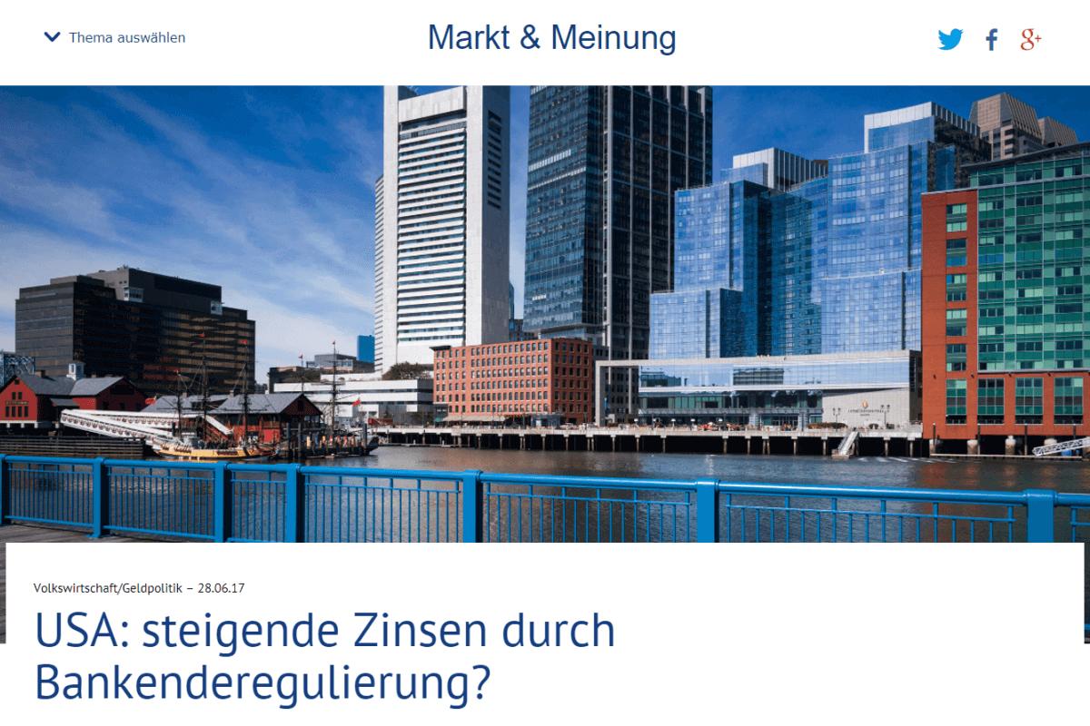 Markt & Meinung - Deutsche Bank