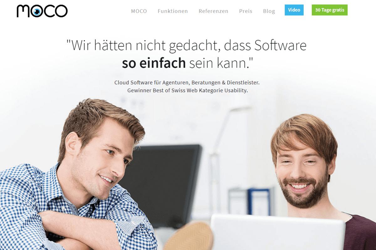 MOCO Agentursoftware