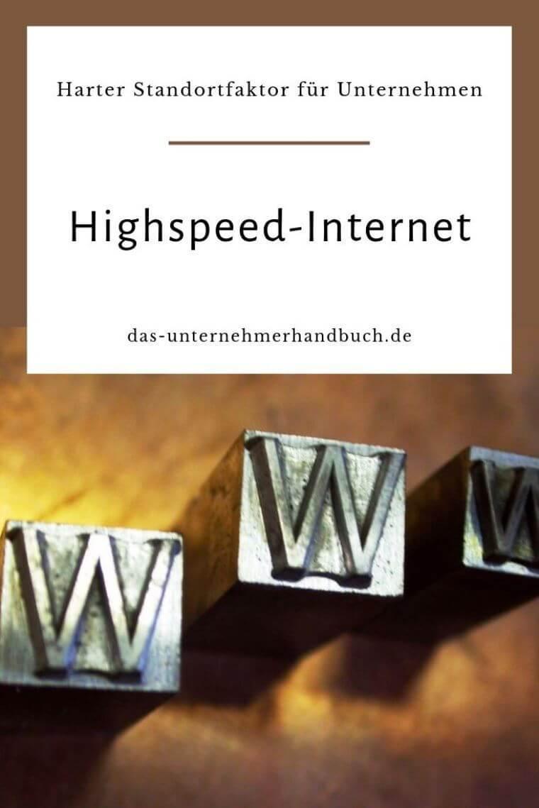 Highspeed-Internet