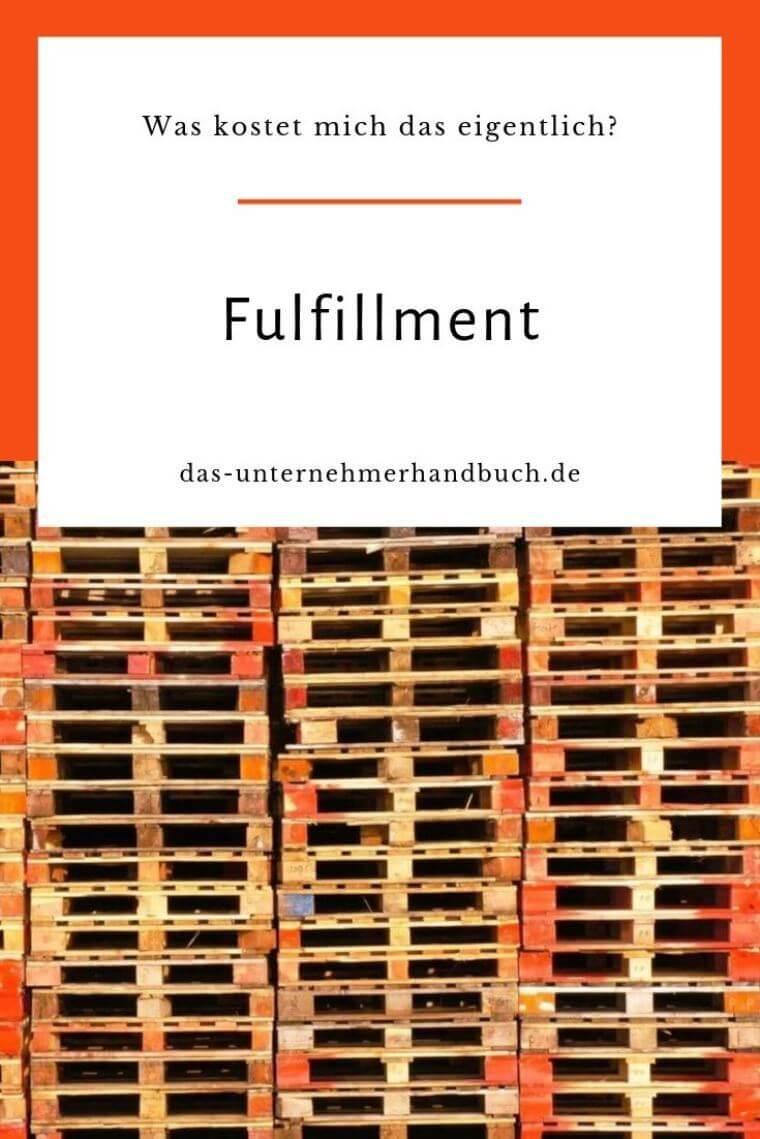 Fulfillment-Kosten