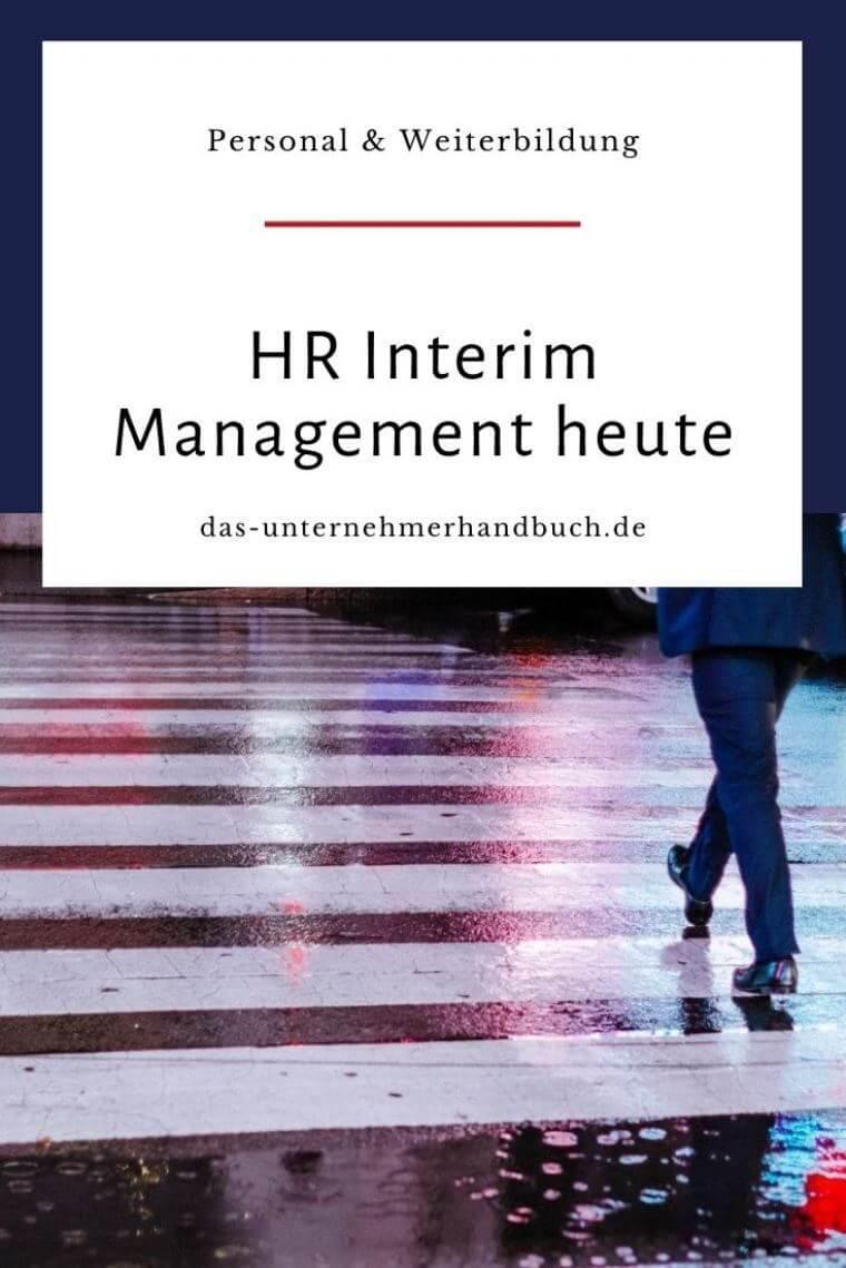 HR Interim Management