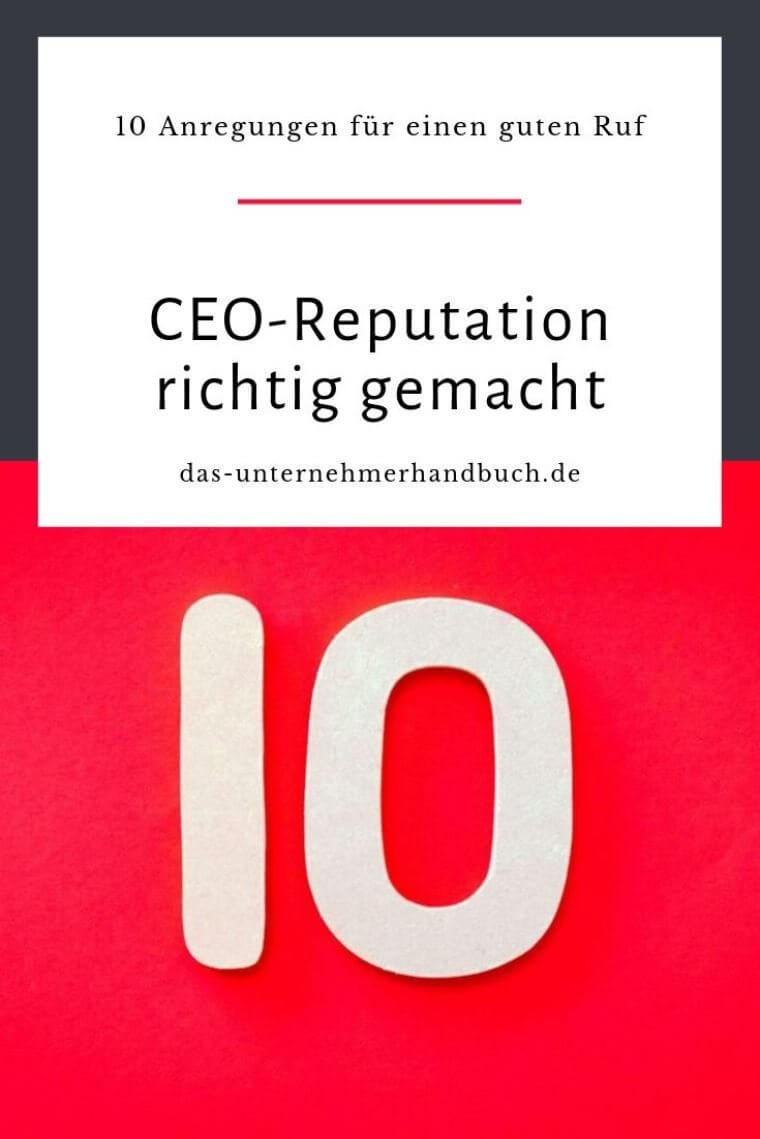 CEO-Reputation