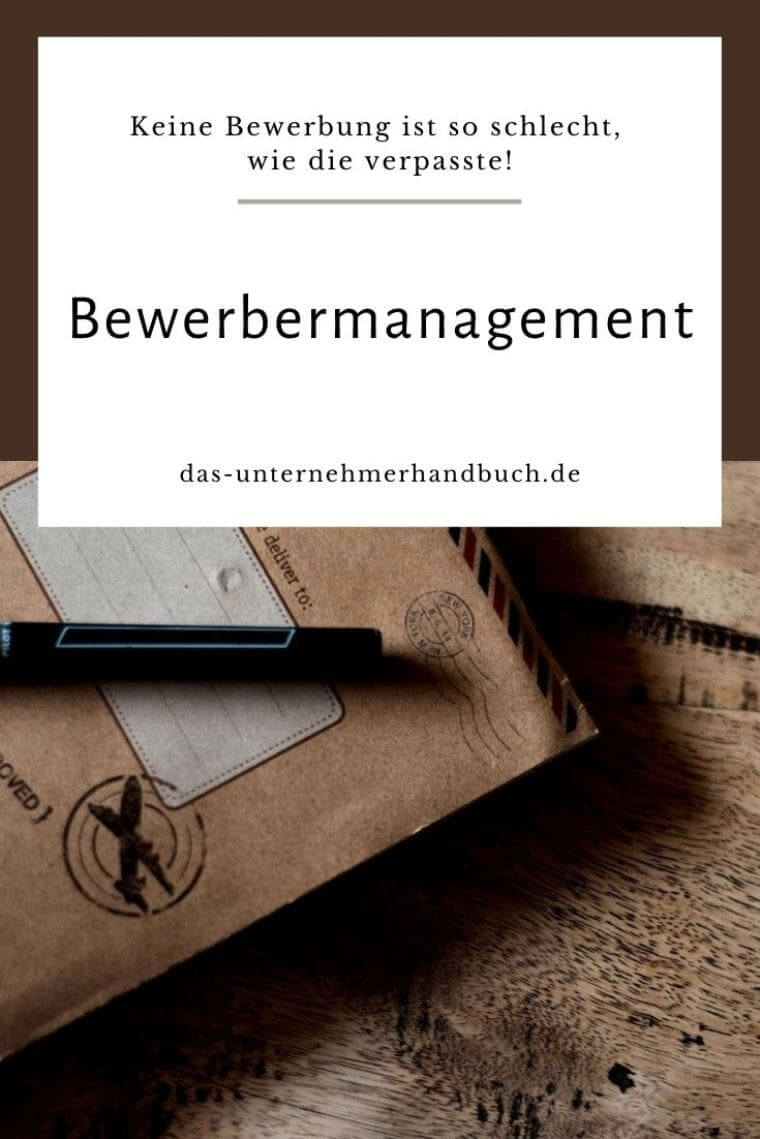 Bewerbermanagement