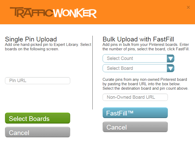 TrafficWonker - Pins - Library