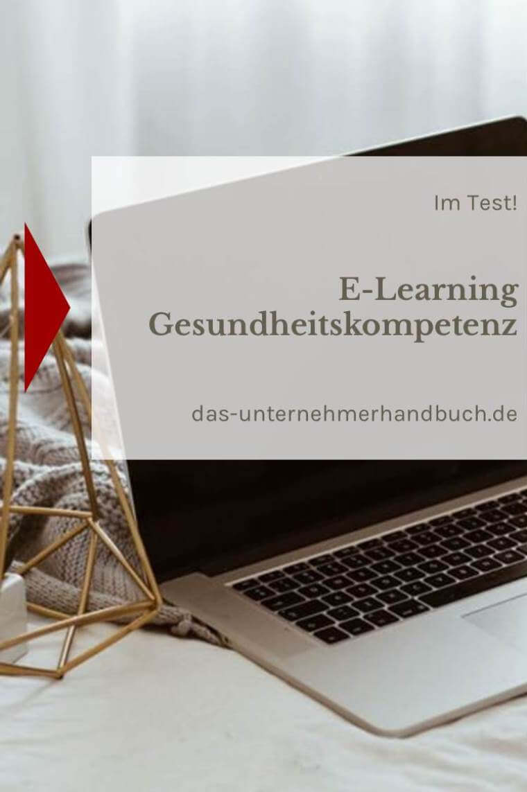 E-Learning Gesundheitskompetenz