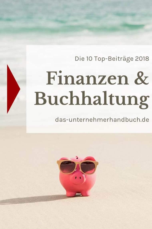 Finanzen & Buchhaltung: die 10 Top-Beiträge 2018