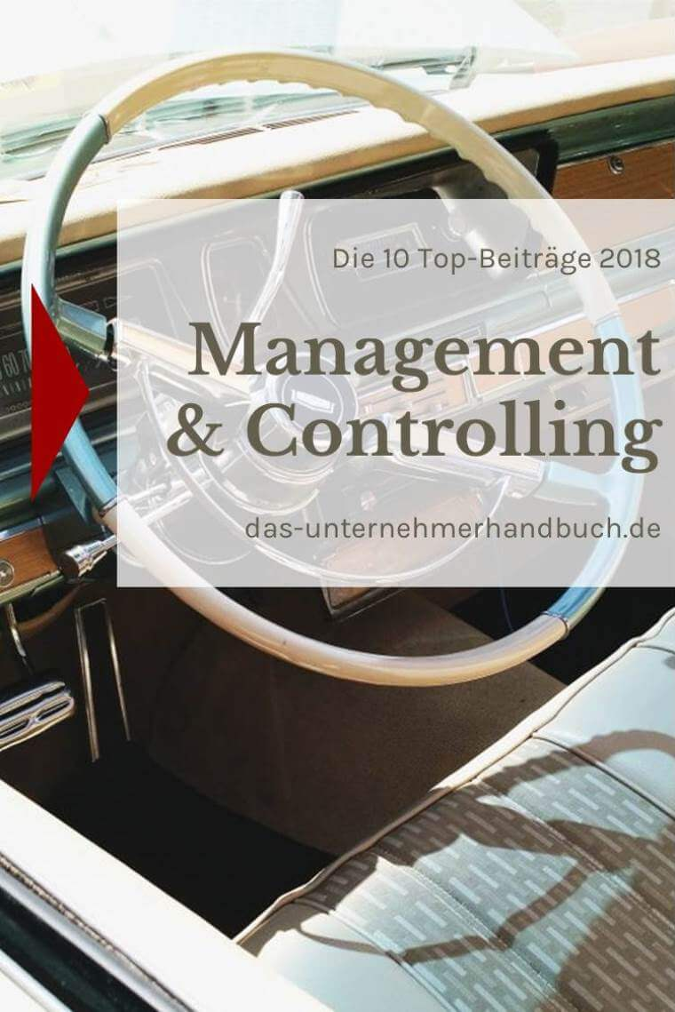 Management & Controlling: die 10 Top-Beiträge 2018