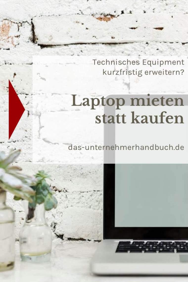 Laptop mieten