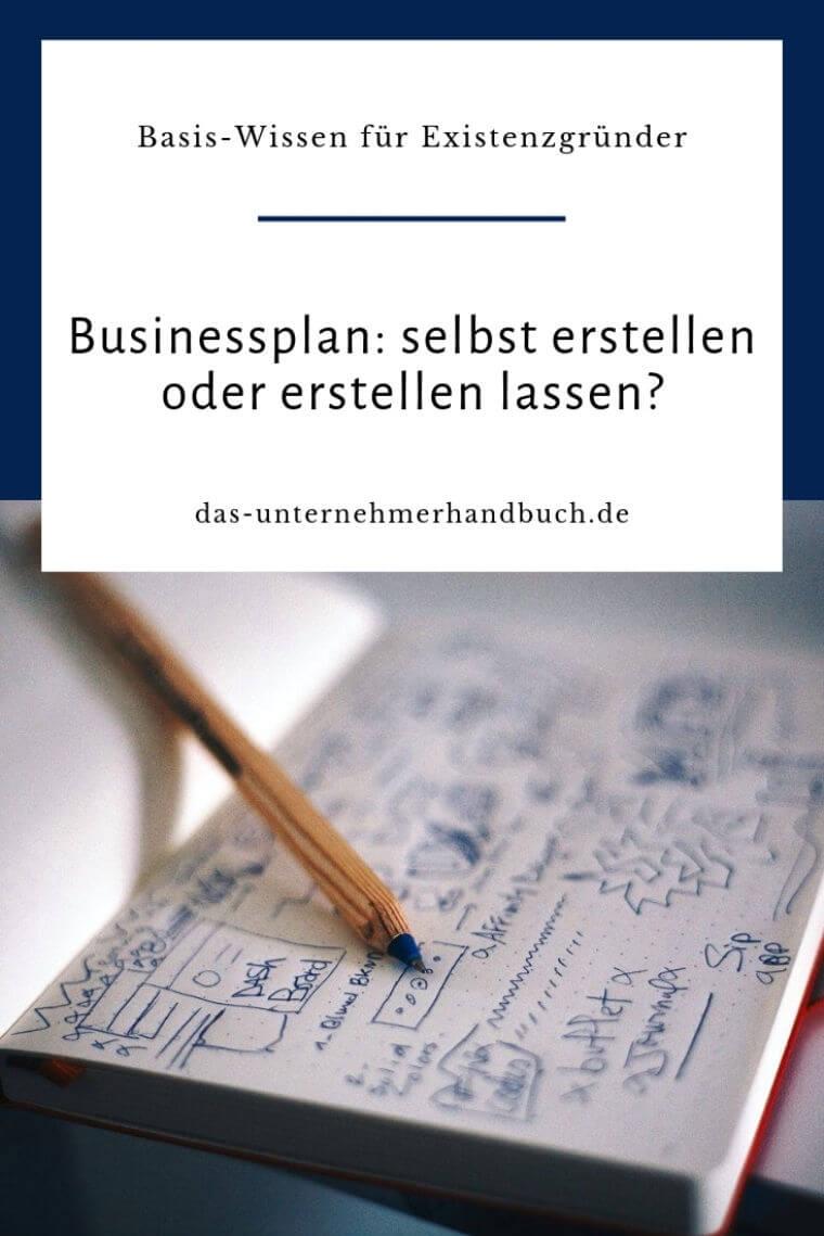 Businessplan erstellen