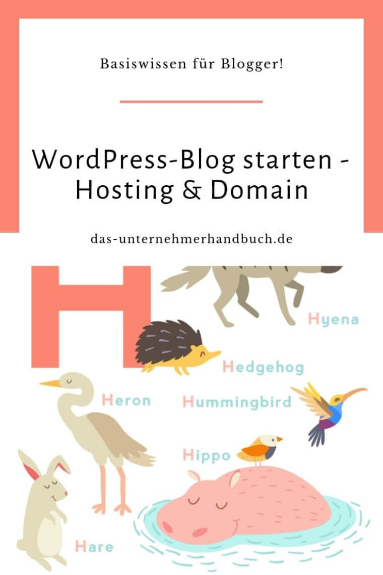 Selbstgehosteten WordPress-Blog starten – Hosting & Domain