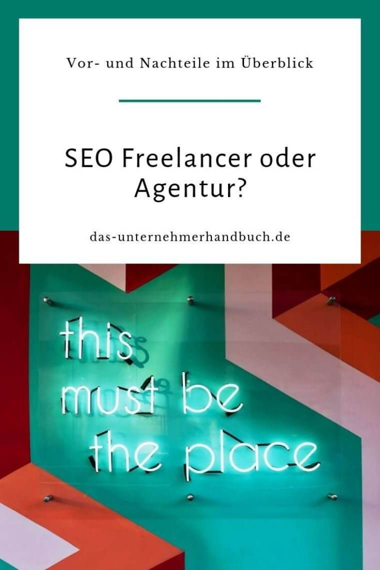 SEO Freelancer Agentur
