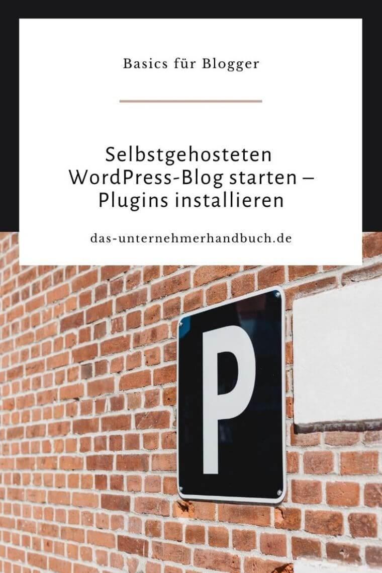 WordPress Plugins installieren