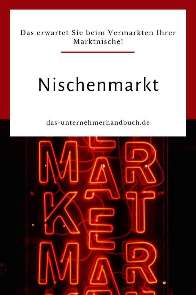 Nischenmarkt Marktnische