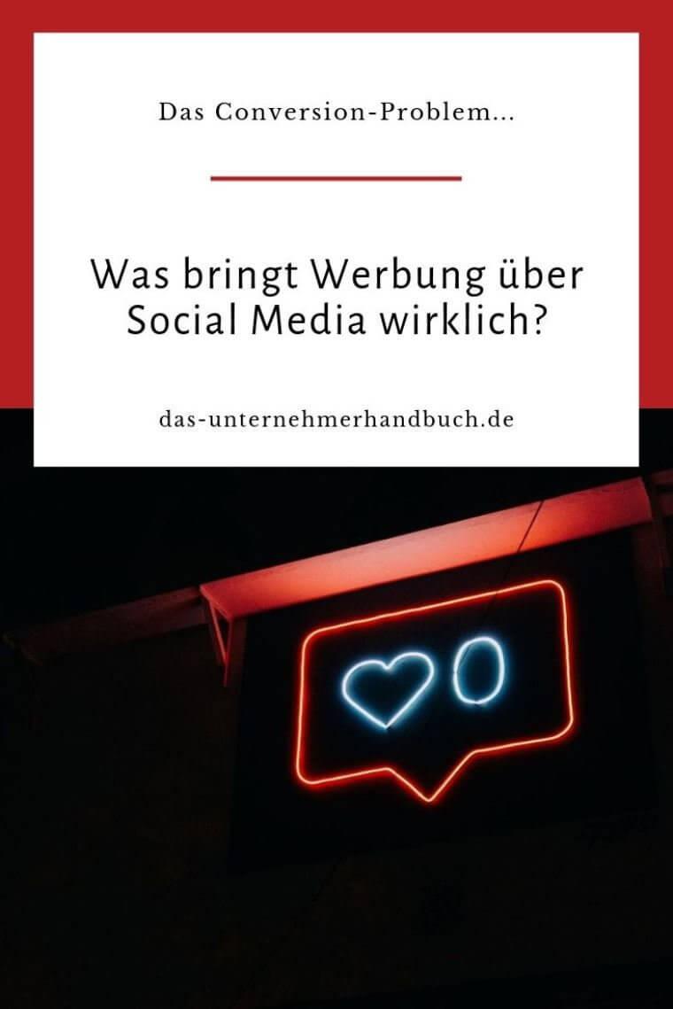 Werbung über Social Media