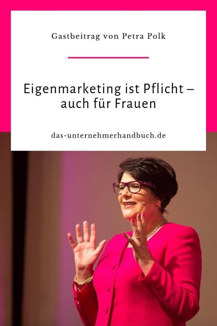 Petra Polk - Eigenmarketing