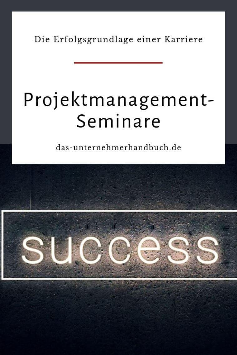 Projektmanagement-Seminare