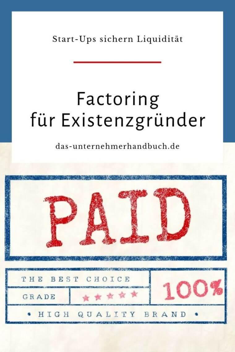 Factoring Rechnung