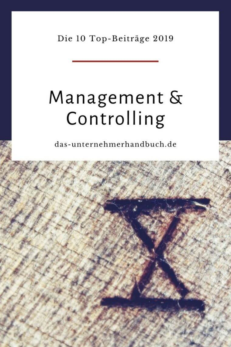 Management & Controlling: die 10 Top-Beiträge 2019