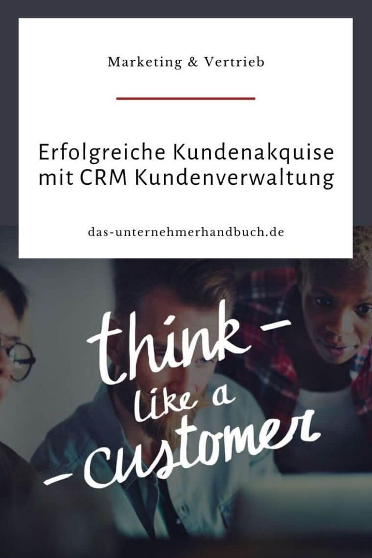 CRM-Kundenverwaltung