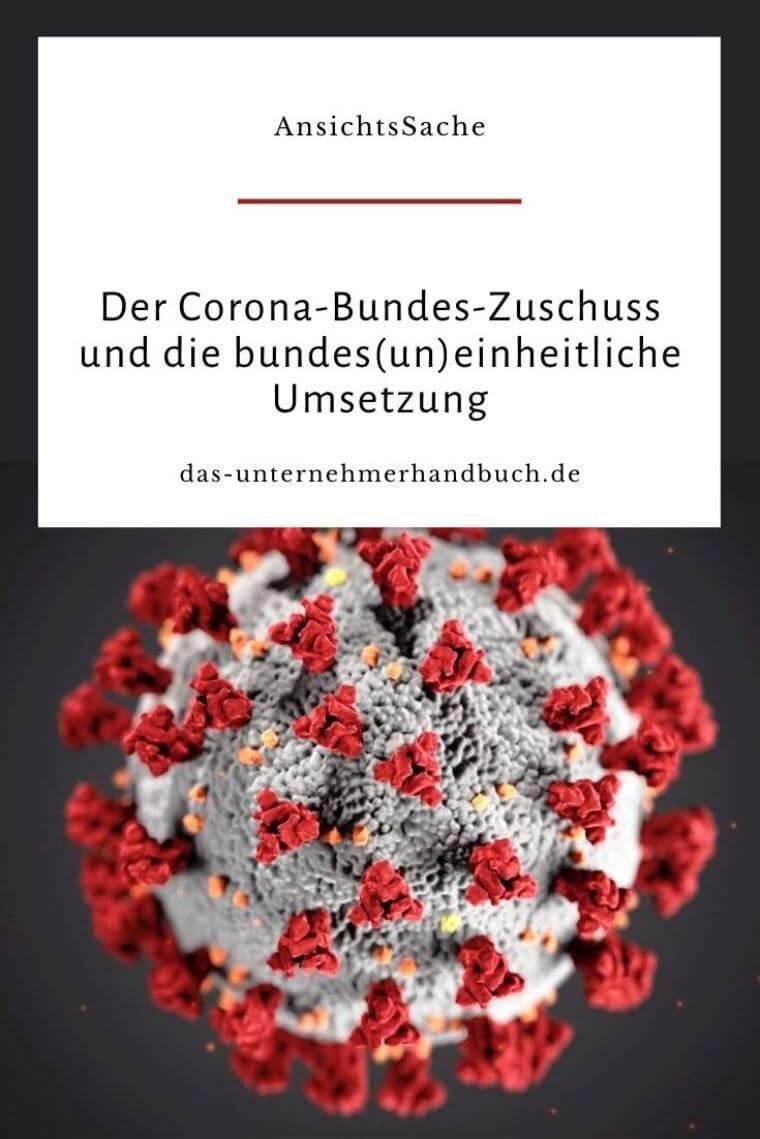 Corona-Bundes-Zuschuss