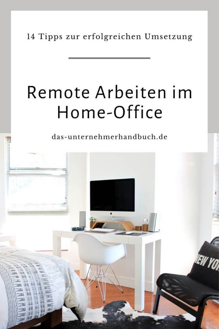 Remote Arbeiten, Home Office, Remote Work
